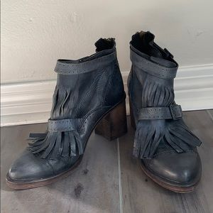 Free People Fringe Bootie